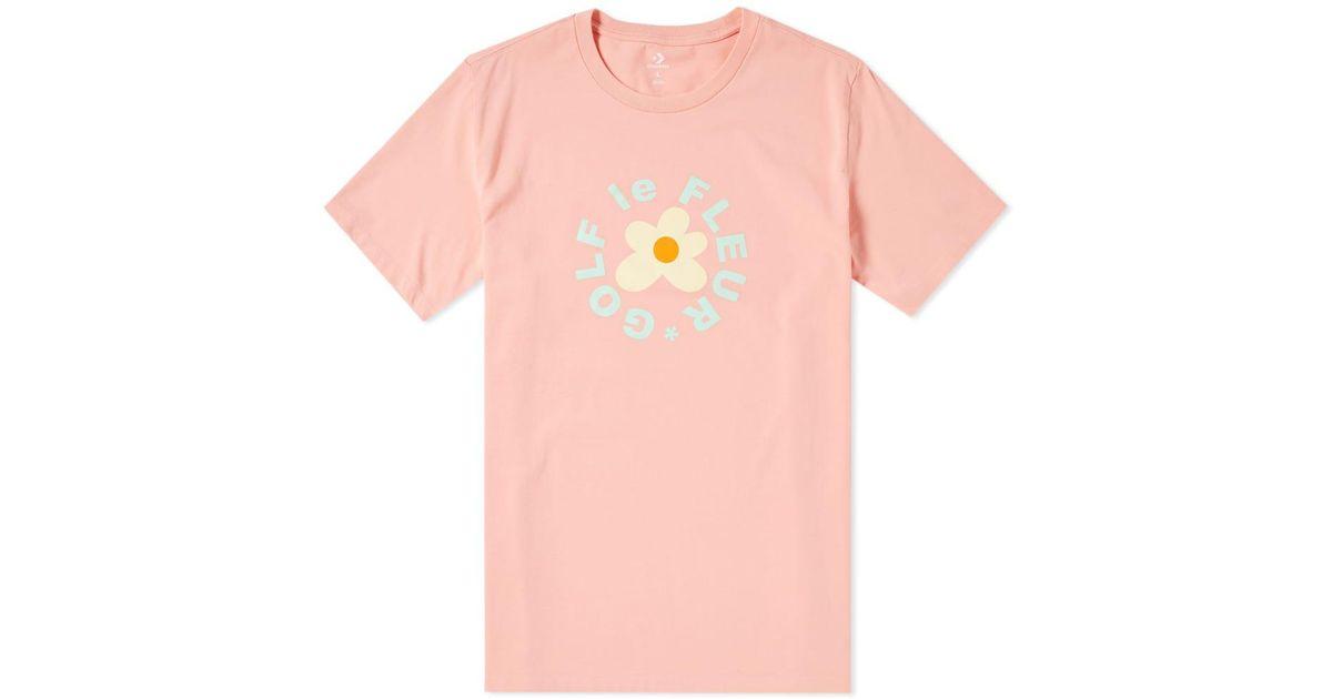 0573f935e6d0 Lyst - Converse X Golf Le Fleur Tee in Pink for Men