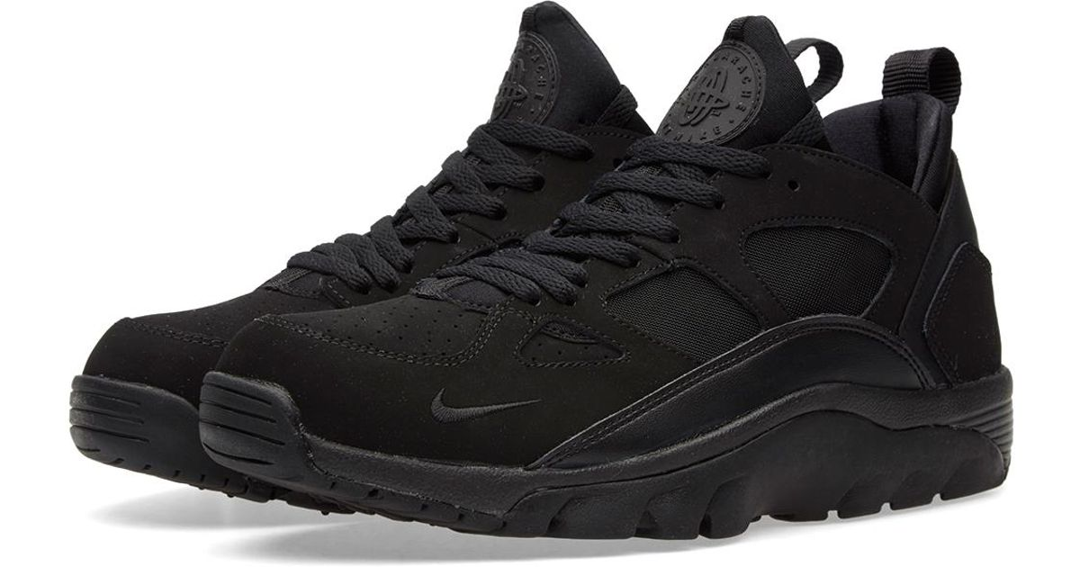 new concept 92ca1 ee54d Nike - Black Air Trainer Huarache Low for Men - Lyst