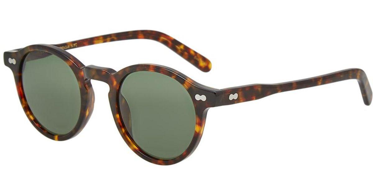 072f67059154 Moscot Miltzen 46 Sunglasses in Brown for Men - Lyst