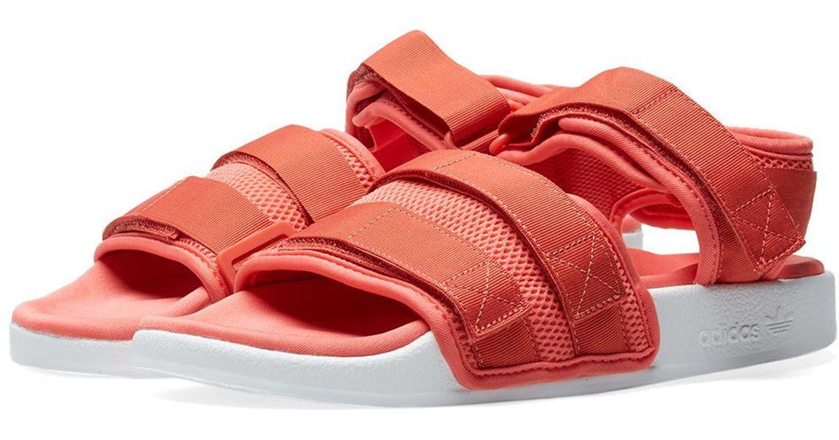 adidas Adilette Sandal 2.0 W in Pink - Lyst