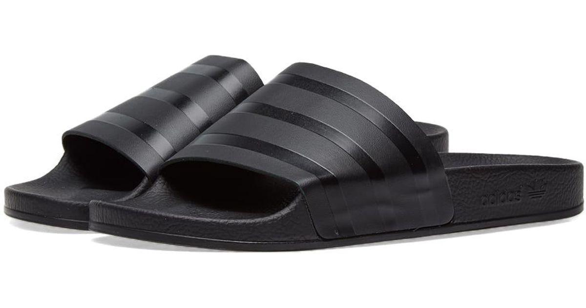 b51f61609a0c Lyst - adidas Adilette Premium in Black for Men
