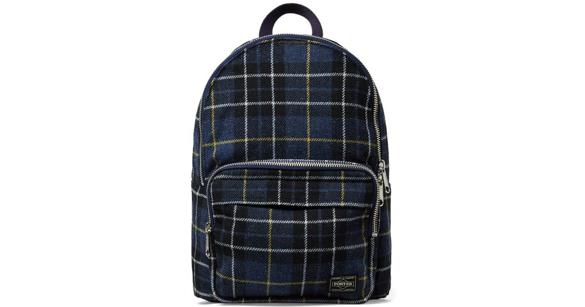 f783792f7ef9 Head Porter - Blue Lesson Day Pack for Men - Lyst