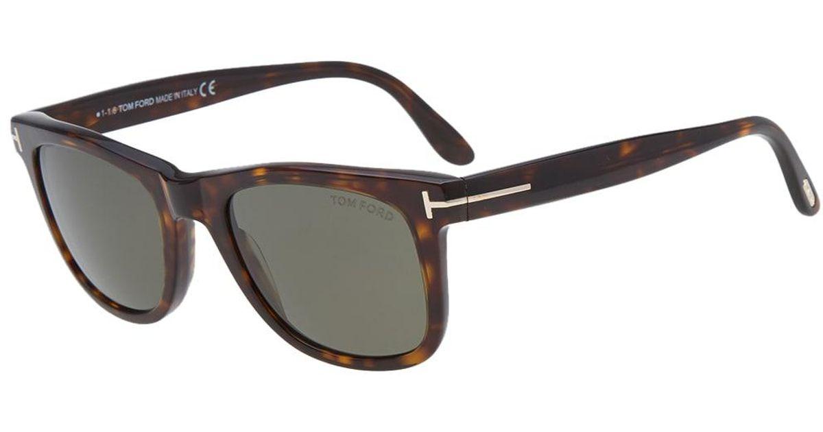 d4188b83bd6 Lyst - Tom Ford Tom Ford Ft0336 Leo Sunglasses in Brown for Men