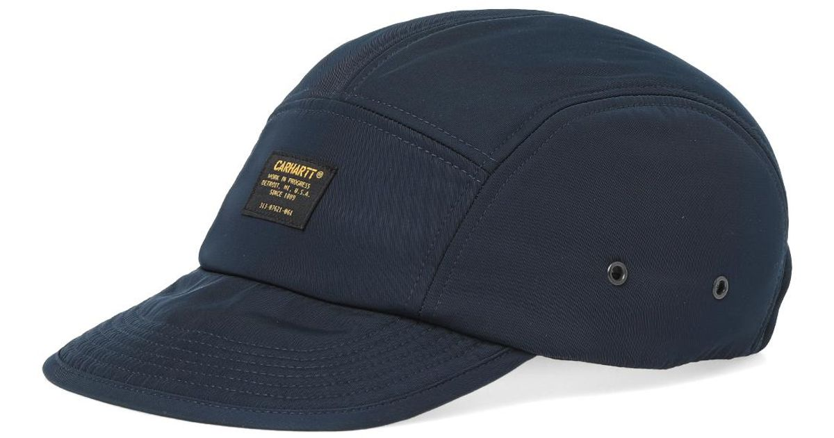 Lyst - Carhartt WIP Military Logo Cap in Blue for Men 970824af9