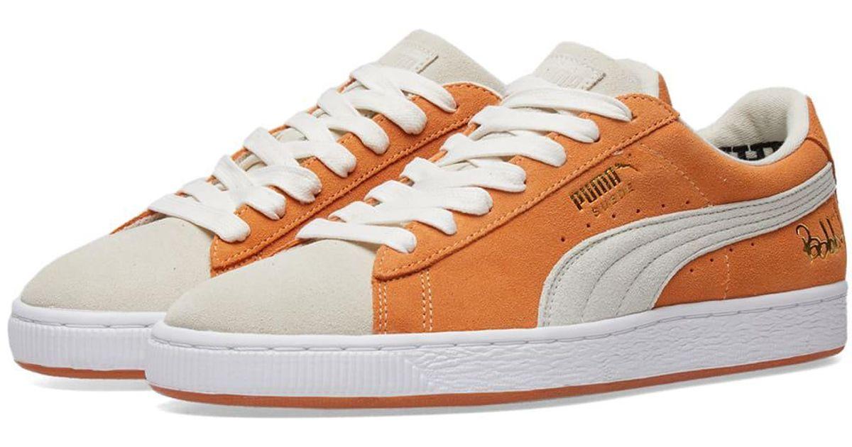 9d36bcb7176 PUMA Orange X Bobbito Suede Classic for men
