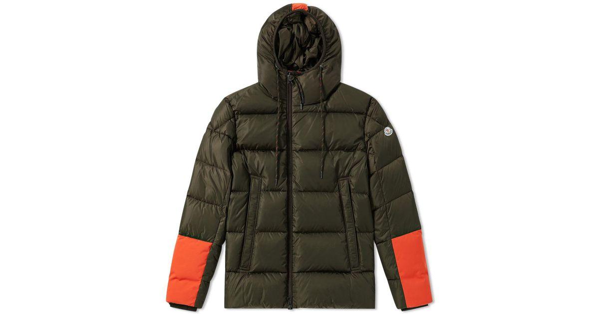 49557590c Moncler Green Drake Jacket for men