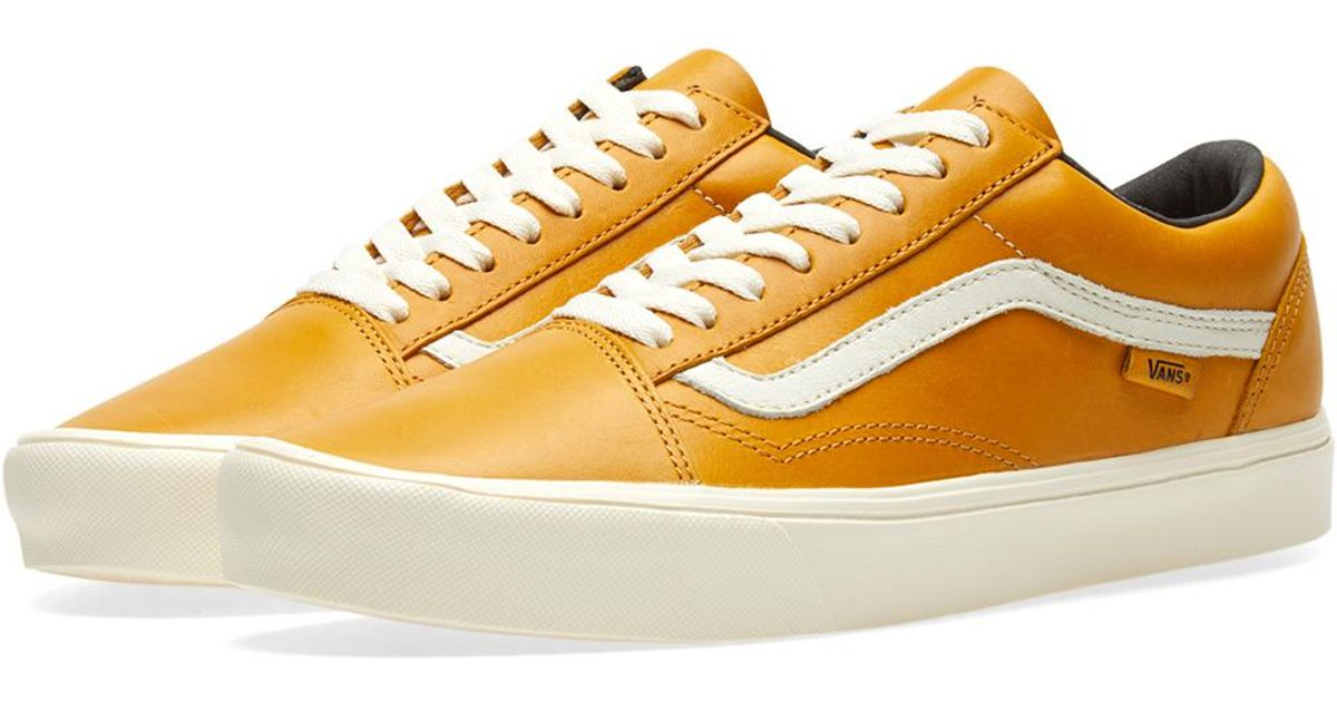 e0d826e45a Lyst - Vans X Horween Old Skool Lite Lx in Yellow