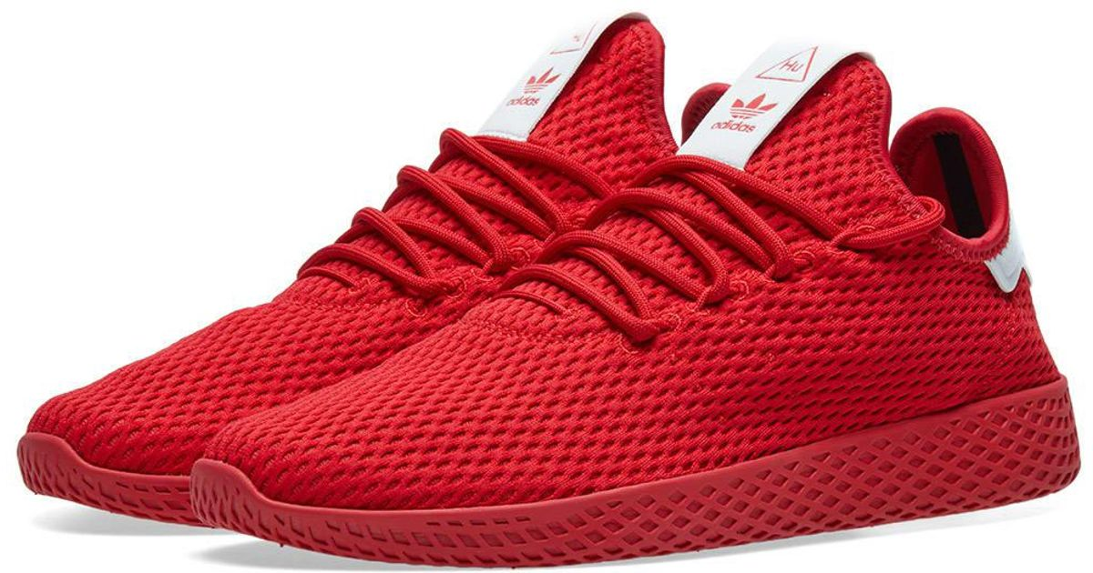 Adidas Red X Pharrell Williams Tennis Hu for men