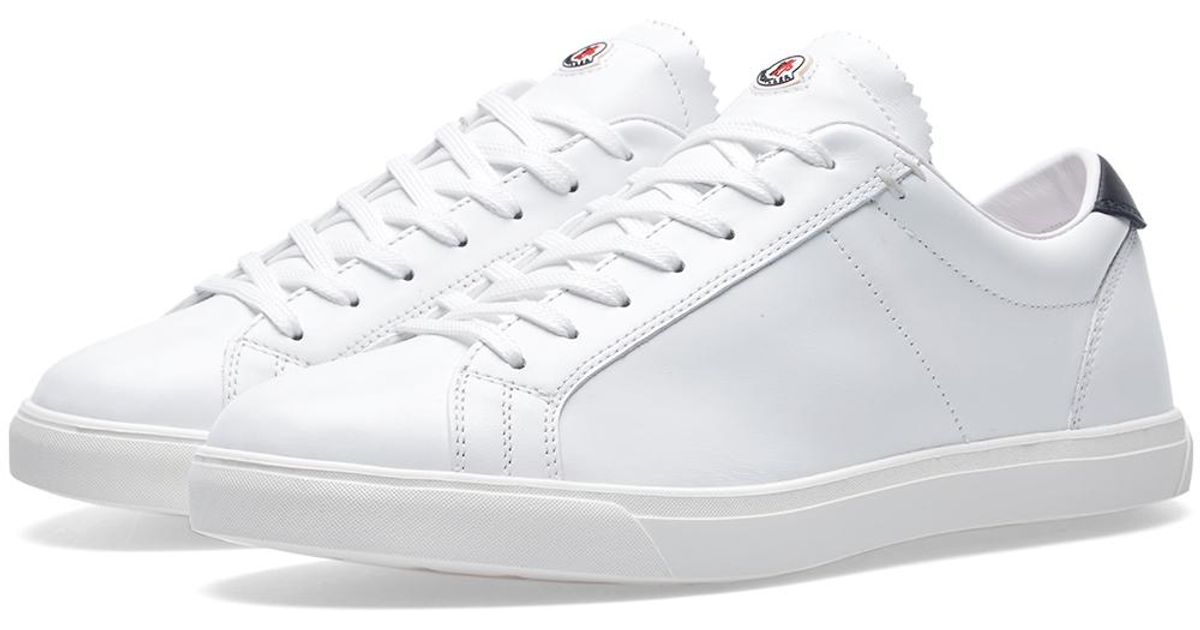 Moncler Leather La Monaco Sneaker in