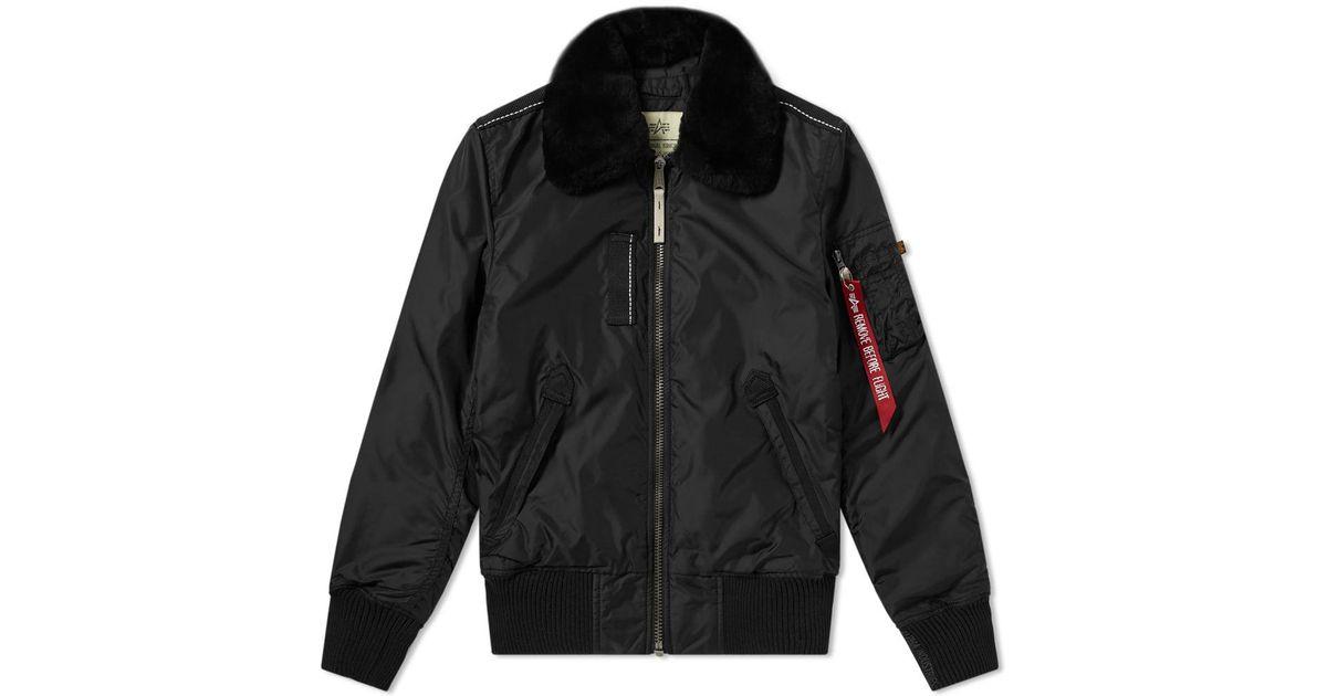 Lyst - Alpha Industries Injector Iii Jacket in Black for Men 10598d84c66