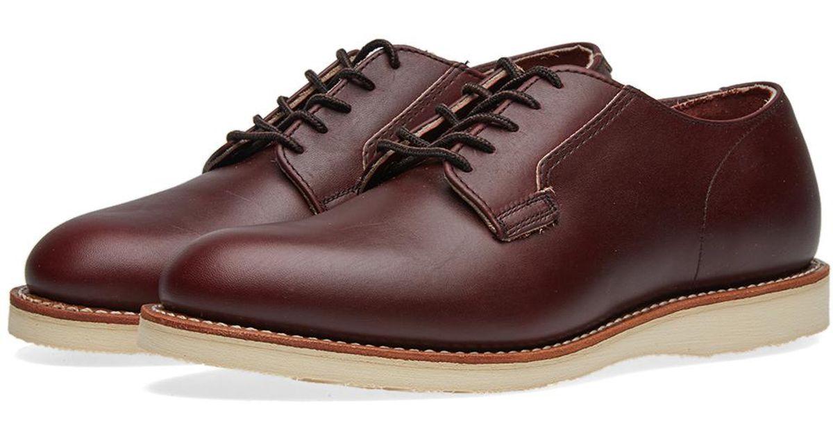 Red Wing Heritage Mens Postman Oxford Work Shoe