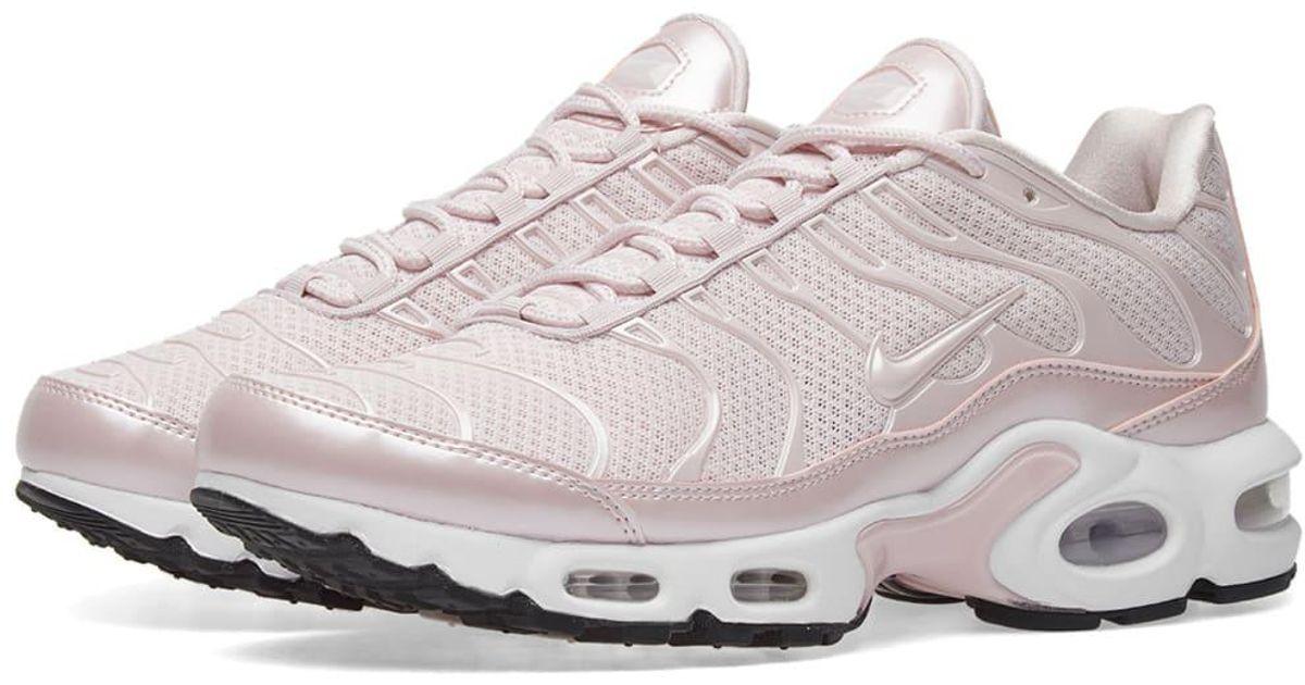 new arrival 10deb 190d3 Nike Pink Air Max Plus Premium W