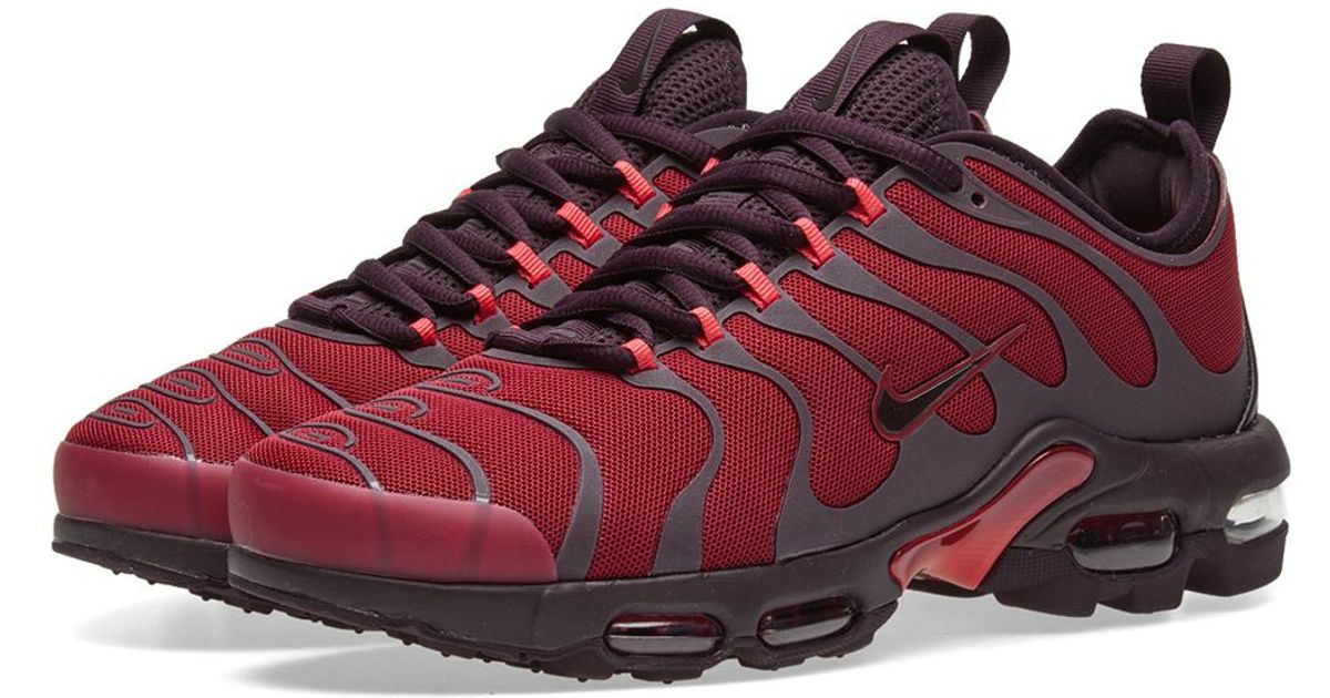 los angeles cdc2d d4d2e Nike Red Air Max Plus Tn Ultra for men