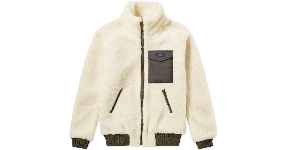 9f3a0ed3e Bleu De Paname Multicolor Polar Jacket for men
