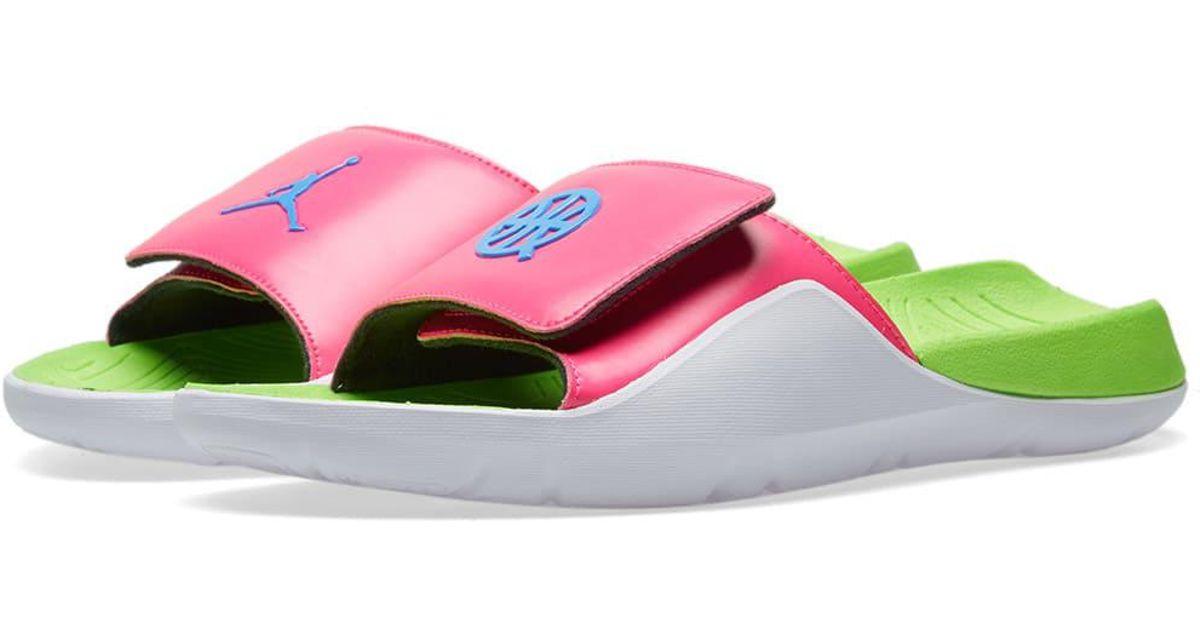 save off 45dae db78f Nike Air Jordan Vii Hydro  quai 54  in Pink for Men - Lyst