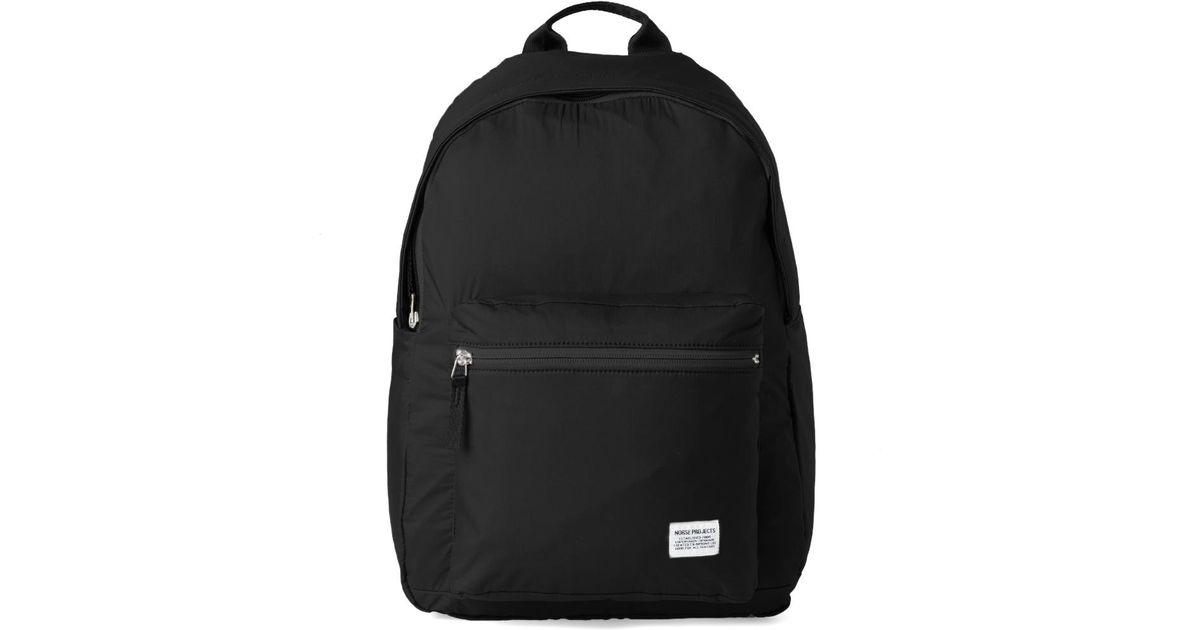 6c957bdb54d Lyst - Norse Projects Louie Ripstop Backpack in Black for Men