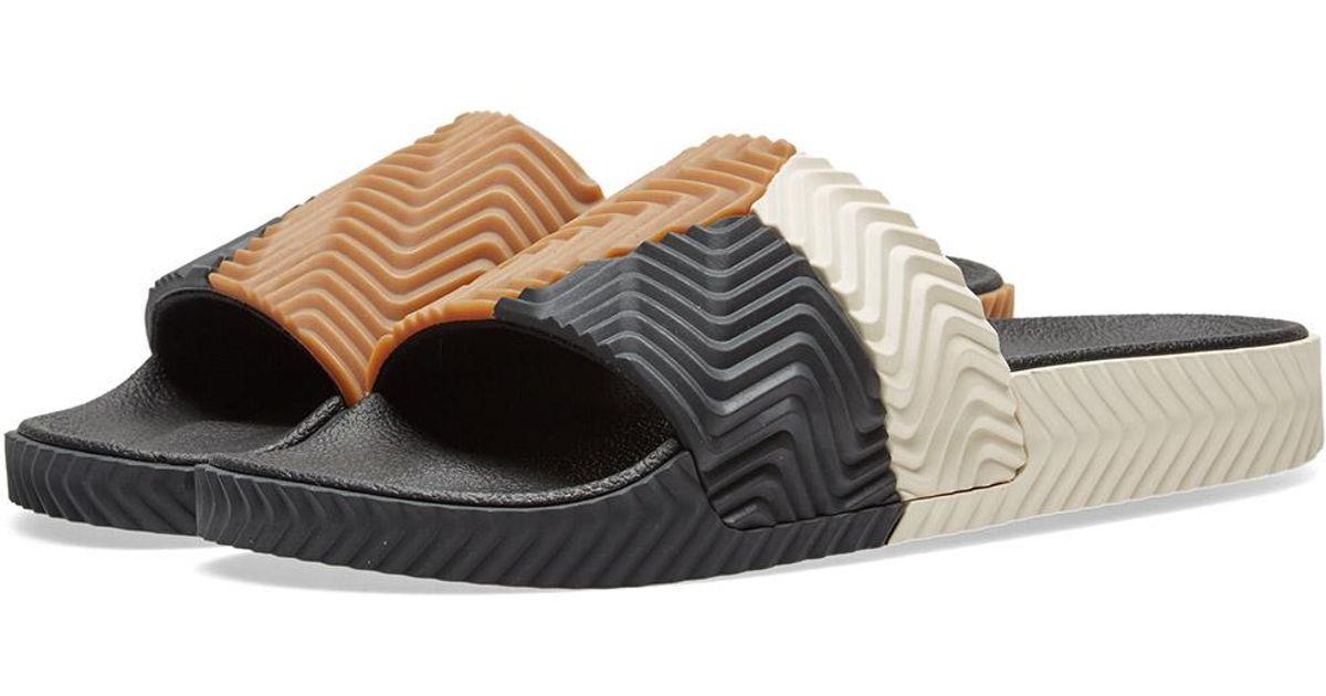 6252b806702e Lyst - Alexander Wang Adidas Originals By Alexander Wang Adilette for Men