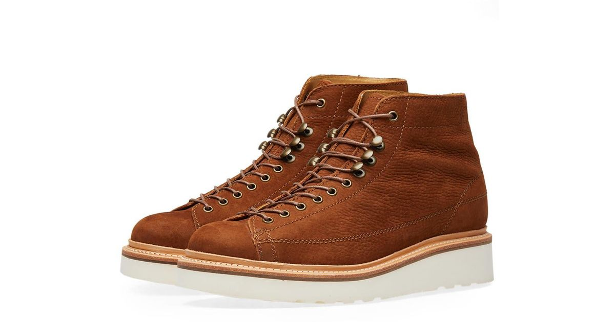 Grenson Andy Boot in Brown for Men - Lyst