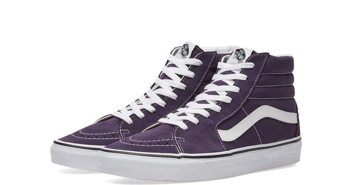 Lyst - Vans Sk8-hi in Purple for Men 547fe29889