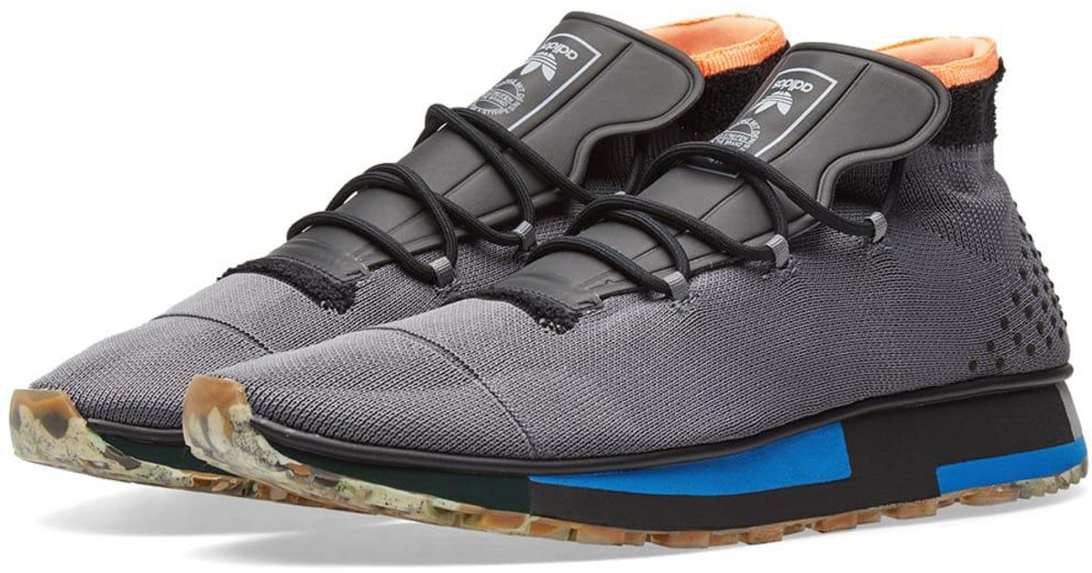 1a37d52db3f Lyst - Alexander Wang Adidas Originals By Alexander Wang Run Mid in Black  for Men