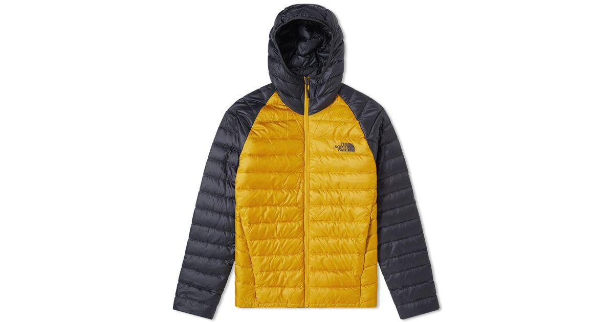 07074e1fb6a2 Lyst - The North Face Trevail Hoody in Yellow for Men