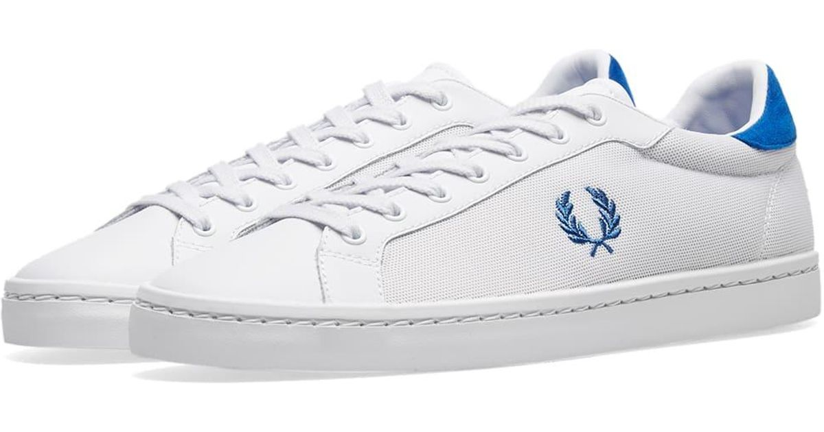 Fred Perry Fred Perry Lawn Leather Mesh