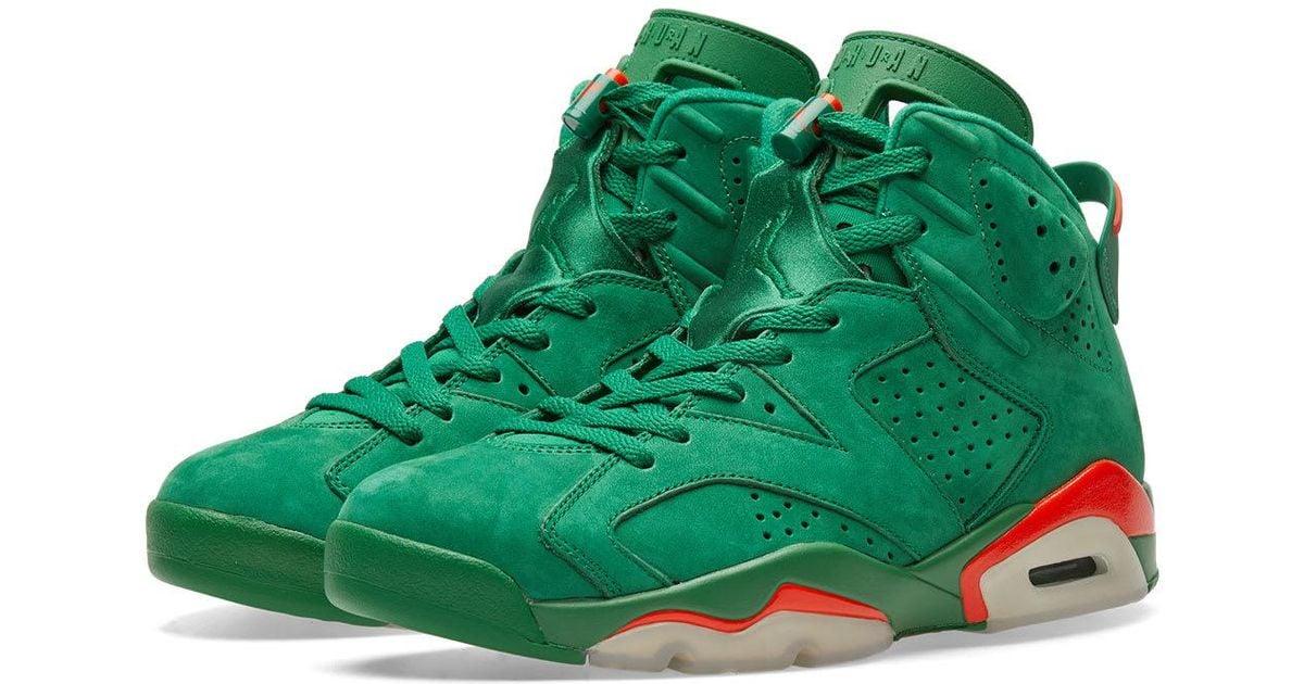 b2f4368ecbe1 Nike Nike Air Jordan 6 Retro Energy  gatorade  in Green for Men - Lyst