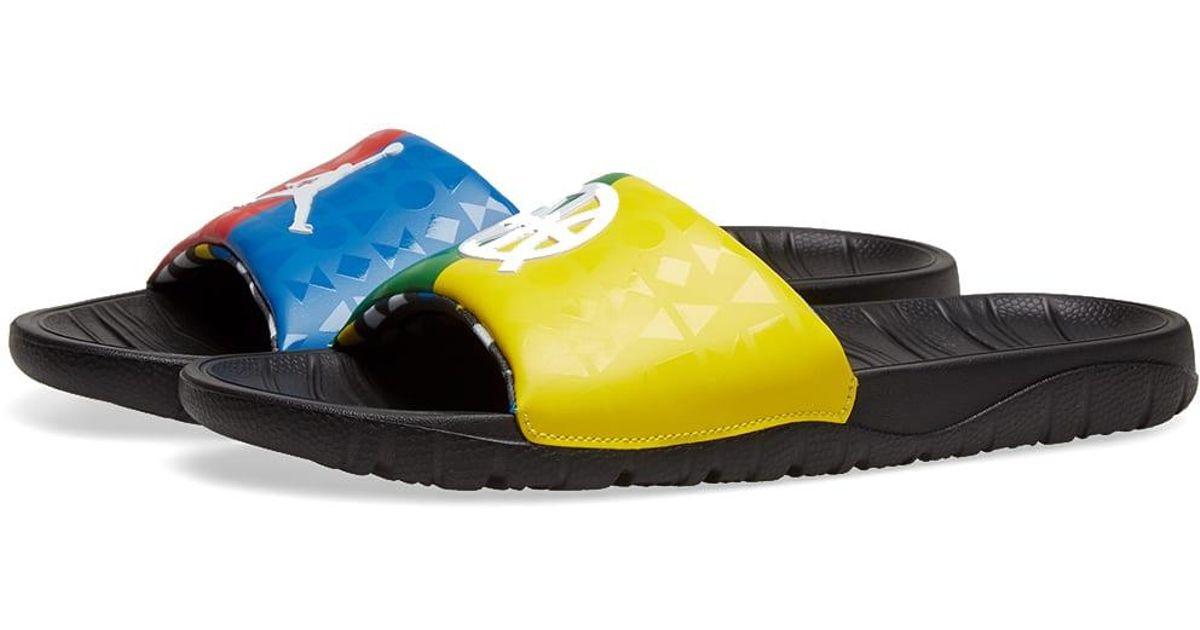 release date: beauty popular brand Nike Multicolor Air Jordan Q54 Slide for men