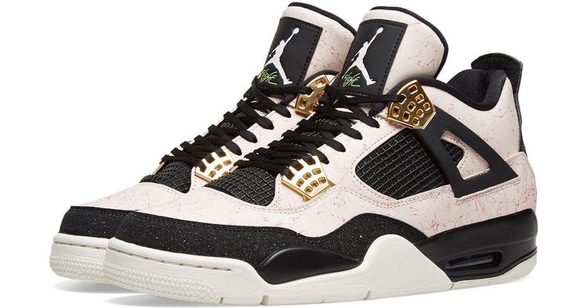 Nike Air Jordan 4 Retro W in Pink for