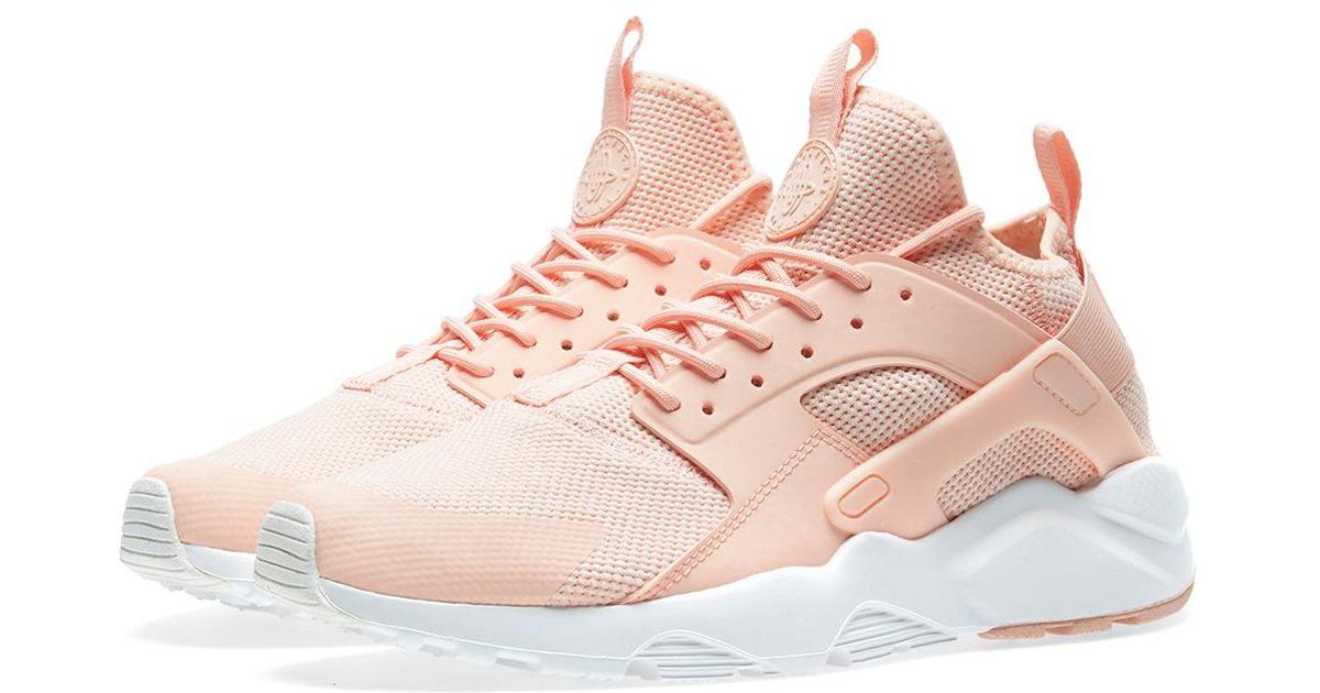 nike huarache run ultra rosa