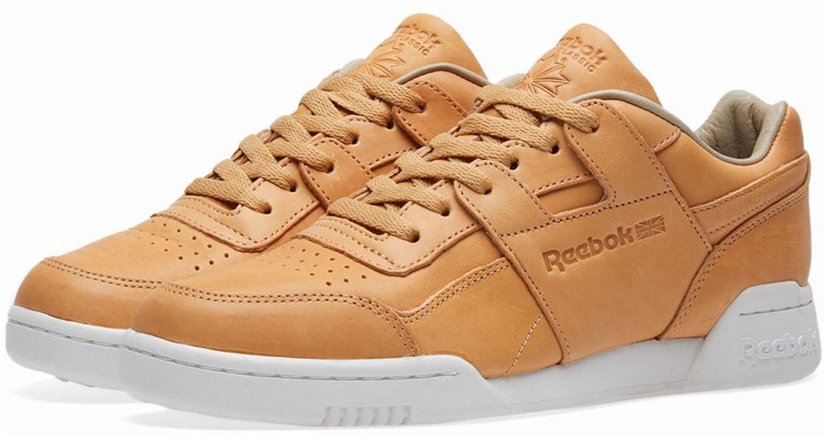 85b6b53fe53 Lyst - Reebok X Horween Leather Co. Workout Plus in Brown for Men