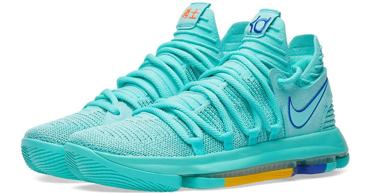 new products 751e7 5b739 shop nike kd 10 green 87e0c c9180