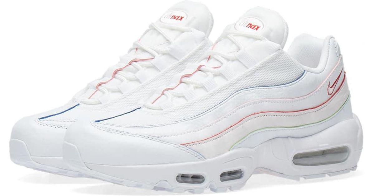 e9a6acb47ca Lyst - Nike Air Max 95 Se W in White for Men