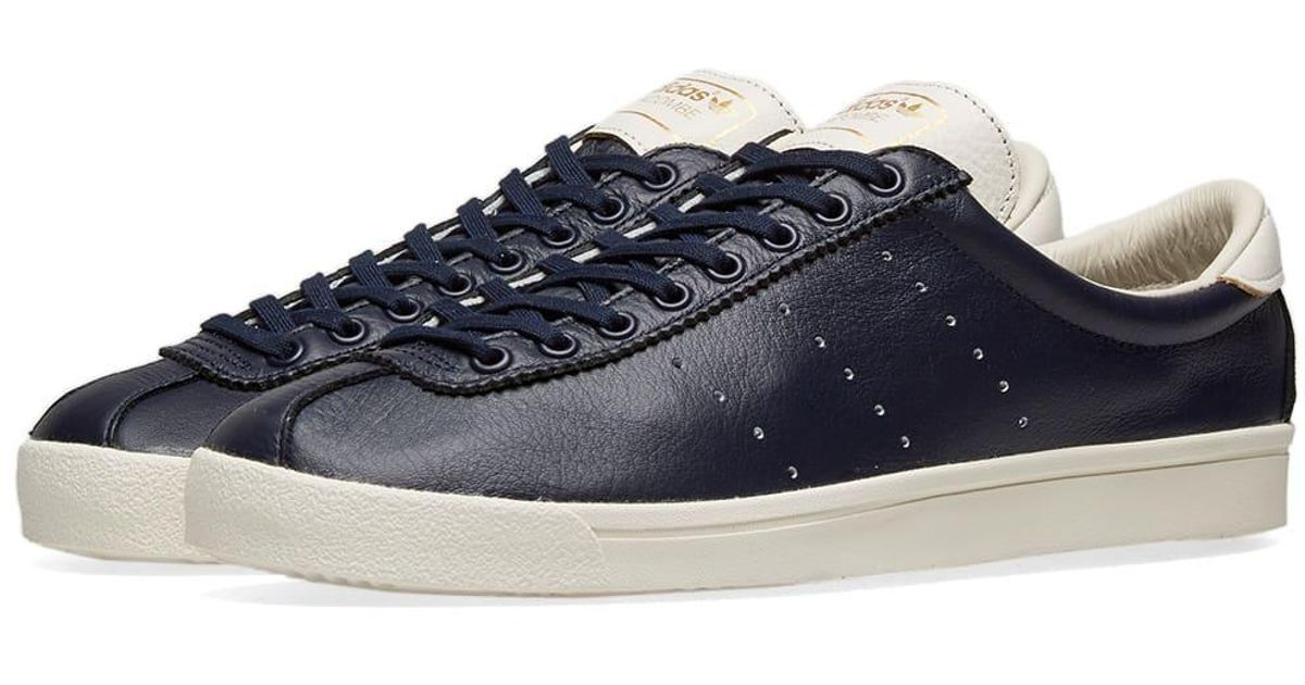 adidas Leather Lacombe in Blue for Men