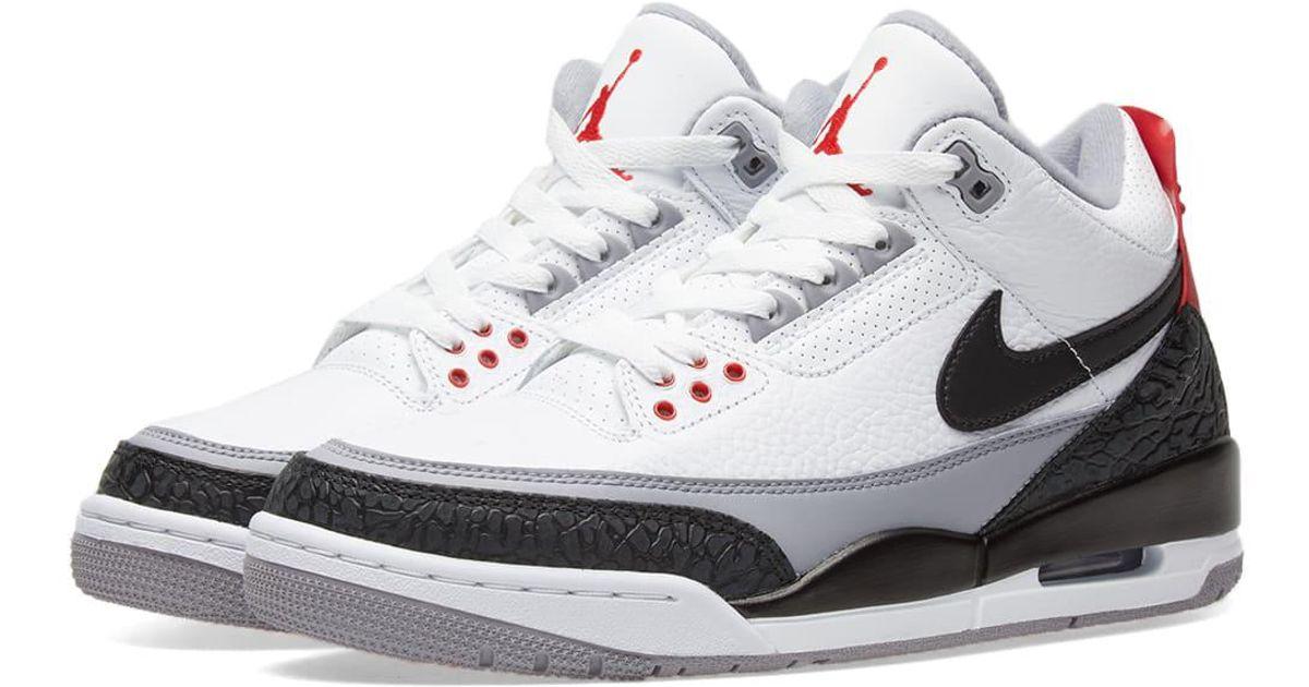 b6248800171d3b Lyst - Nike Air Jordan 3 Retro Tinker Energy in White for Men