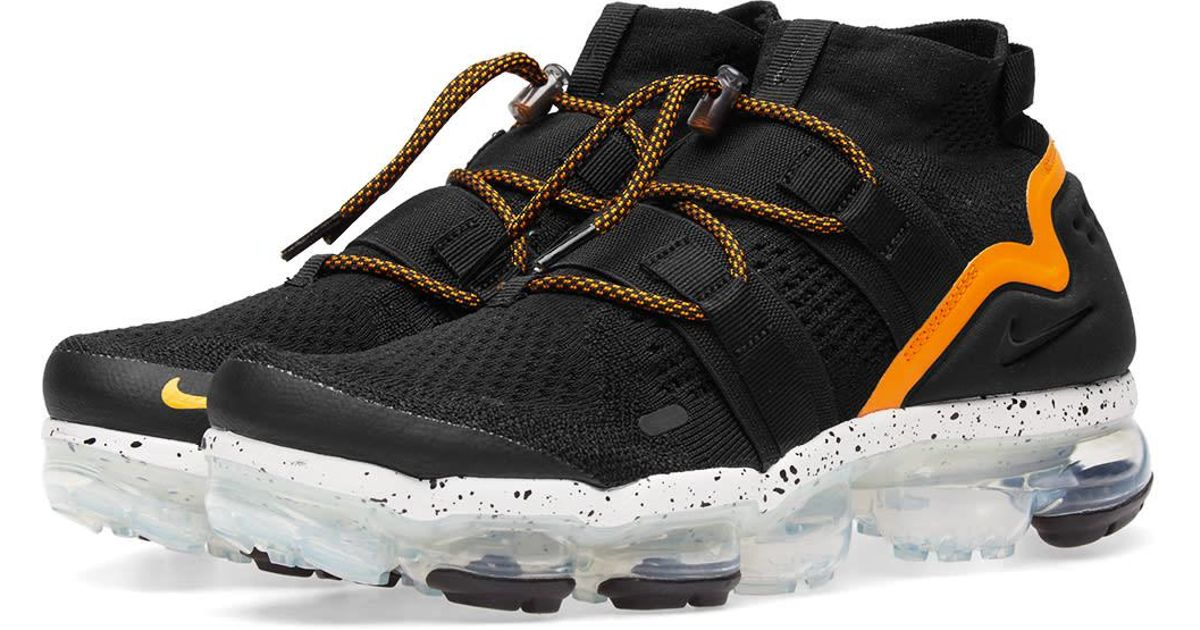d6e40898d4 Nike Nike Air Vapormax Flyknit Utility in Black for Men - Lyst