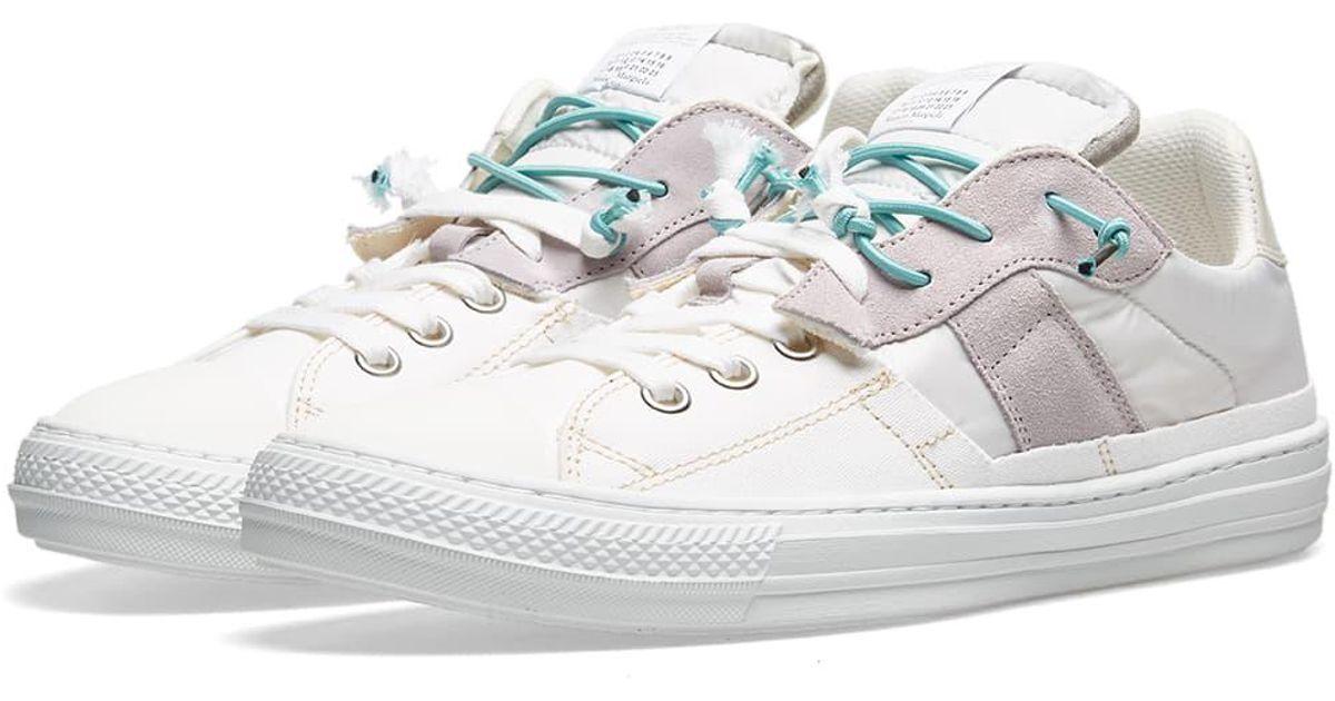 timeless design 7ca55 b496b Maison Margiela White 22 2-in-1 Low Sneaker for men