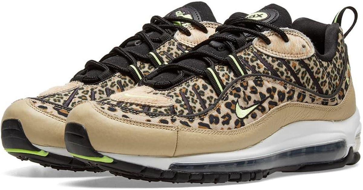Nike Brown Air Max 98 Premium W 'animal Pack'