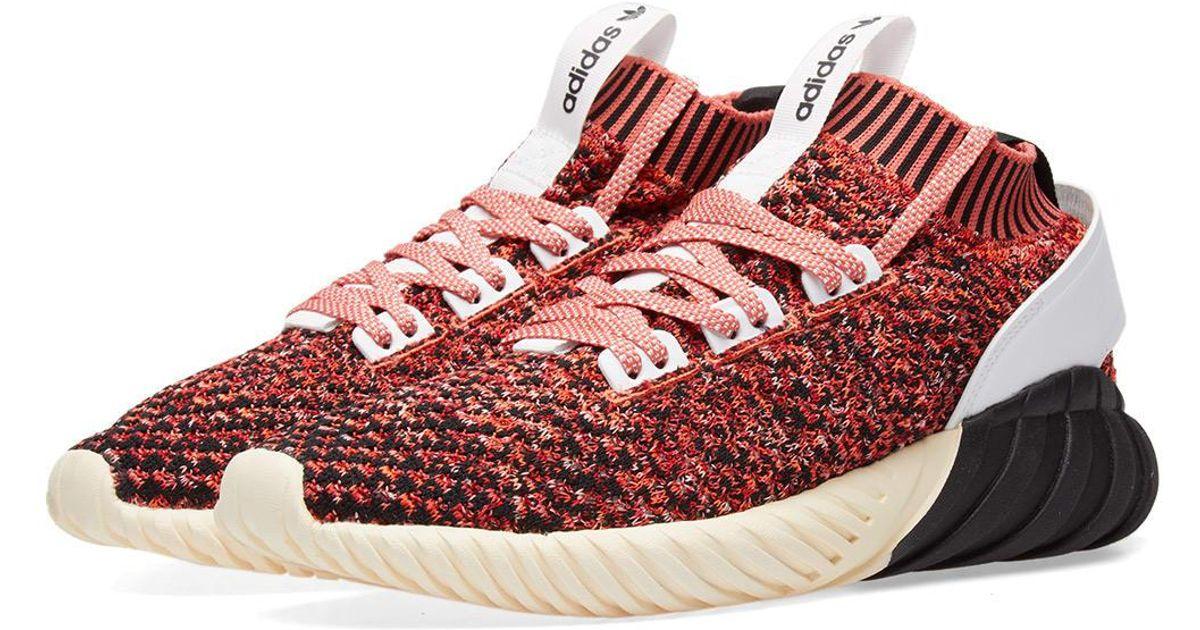 adidas Leather Tubular Doom Sock Pk in