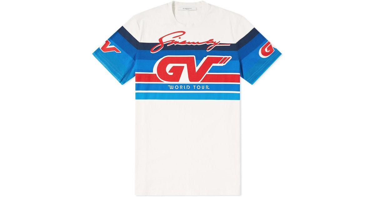 Givenchy Cotton Gradient Gv World Tour