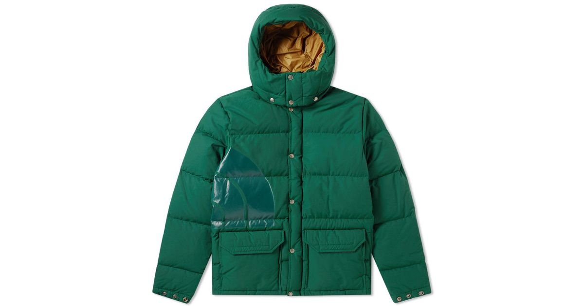 f5aa66859 Junya Watanabe Green X The North Face Down Jacket for men