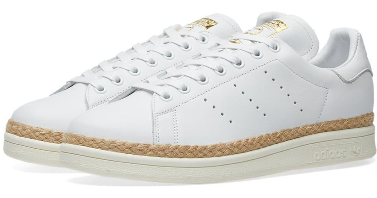 huge selection of c4c34 98b5b Adidas White Stan Smith New Bold W