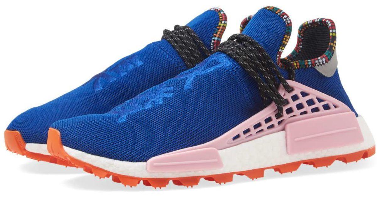 1e7a11c22 Adidas Originals Adidas By Pharrell Williams Solarhu Nmd in Blue for Men -  Lyst