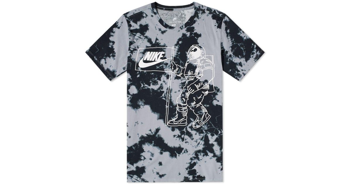 8b54f528a Nike Tie Dye 1 Tee in Gray for Men - Lyst