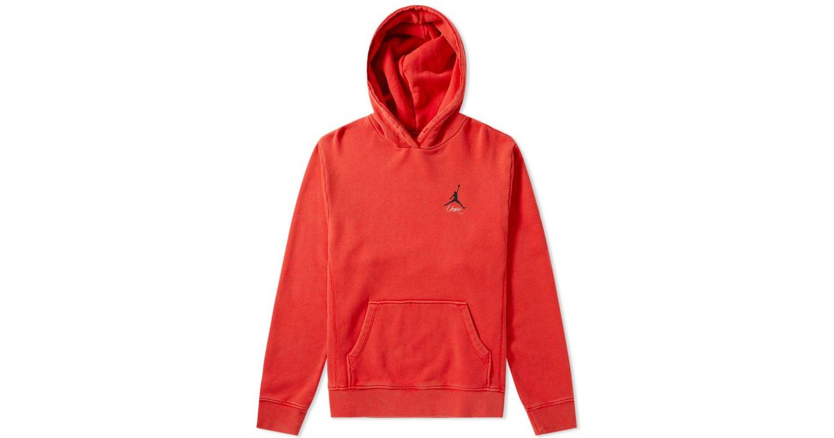 eb537c33fd06 Nike Air Jordan X Union Vault Flight Hoody in Red for Men - Lyst