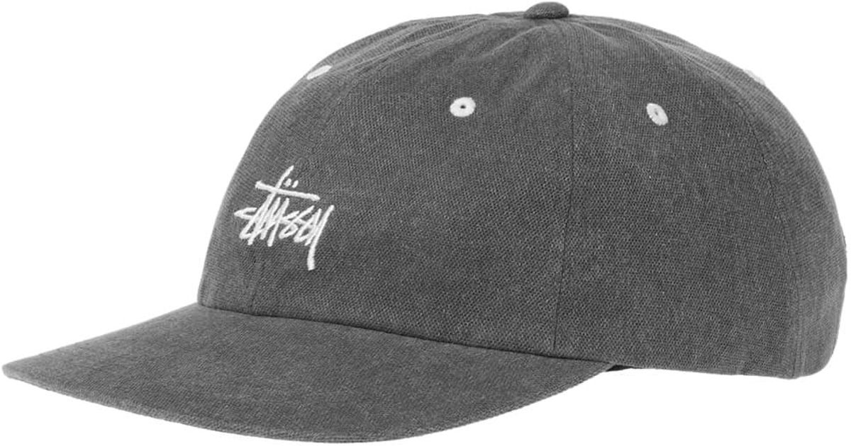 ac425c0b140 Lyst - Stussy Washed Stock Low Pro Cap in Gray for Men