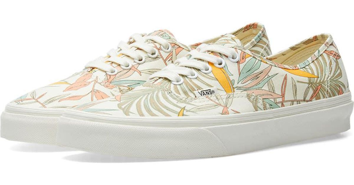 842bf2fa2b3 Lyst - Vans Authentic California Floral for Men
