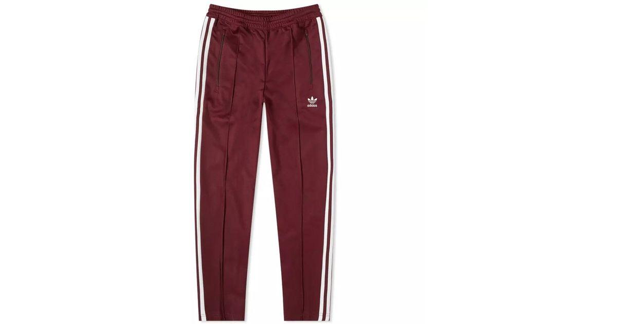 adidas beckenbauer red pants