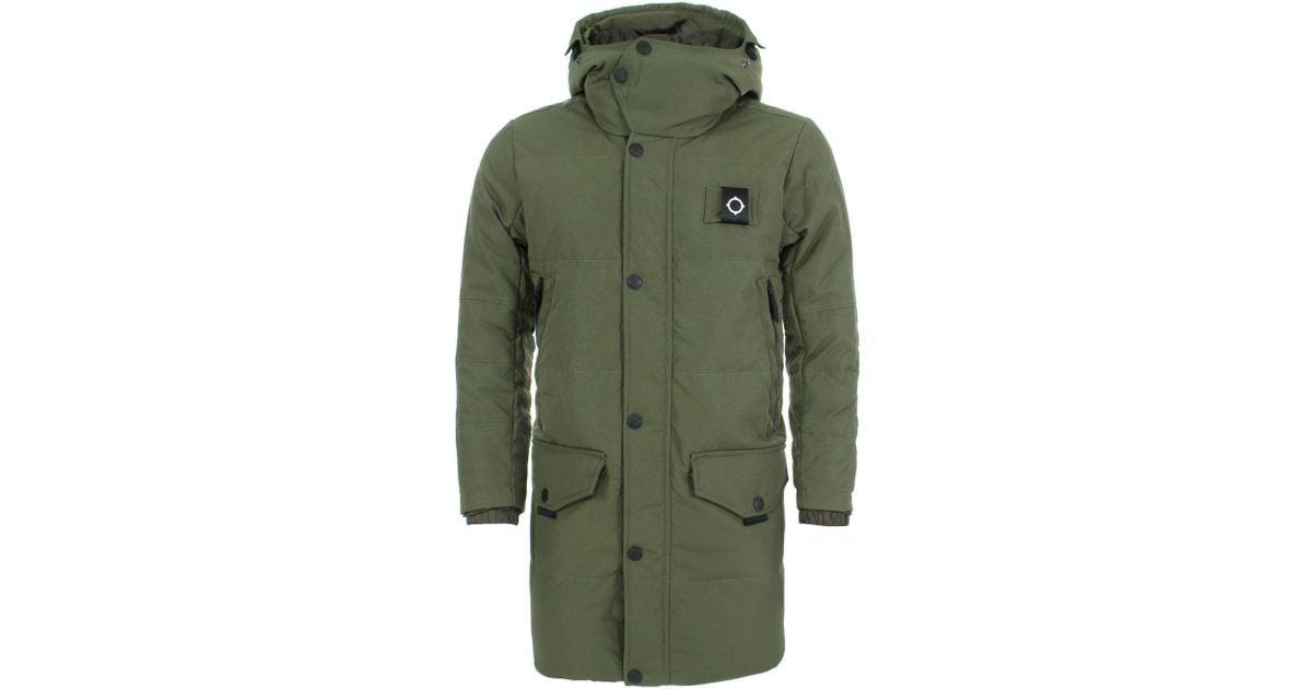 cdd09d867e2 Ma.strum Green Ursa Jacket for men