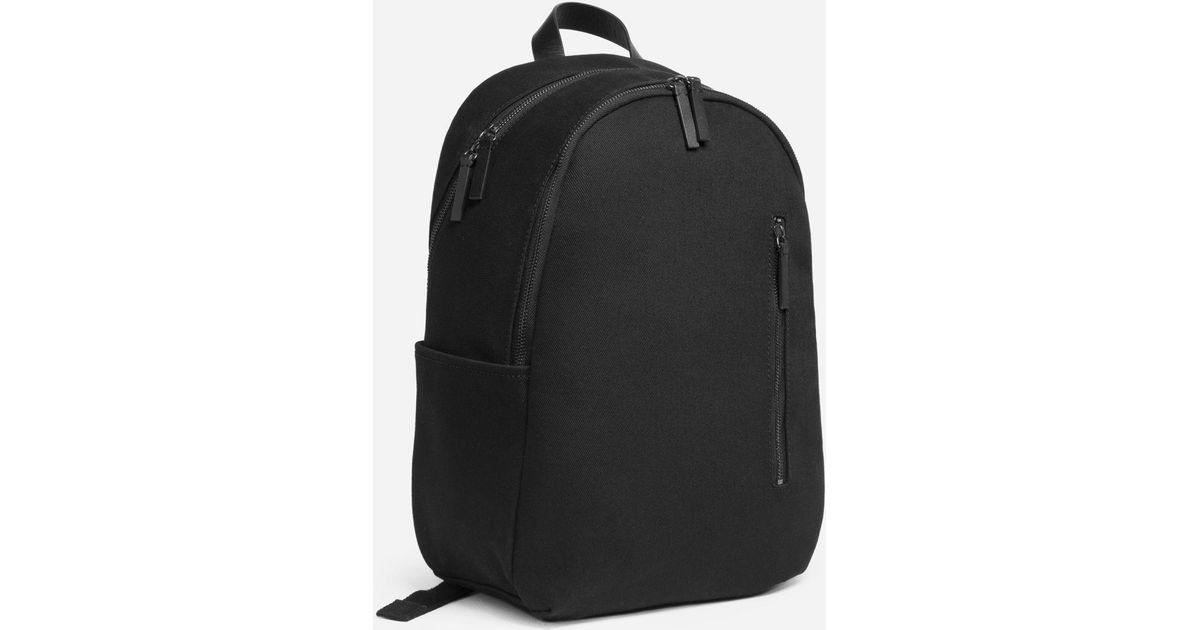 54ad29539f8c Lyst - Everlane The Modern Commuter Backpack in Black for Men